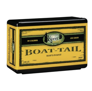 Speer 308 150gr Boat Tail 100pk No 2022