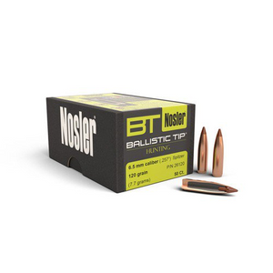 Nosler 6.5MM 120Gr B/Tip 50pk No 26120