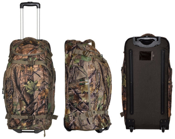 Ridgeline Grunt Wheelie Gear Bag Nature Green Camo