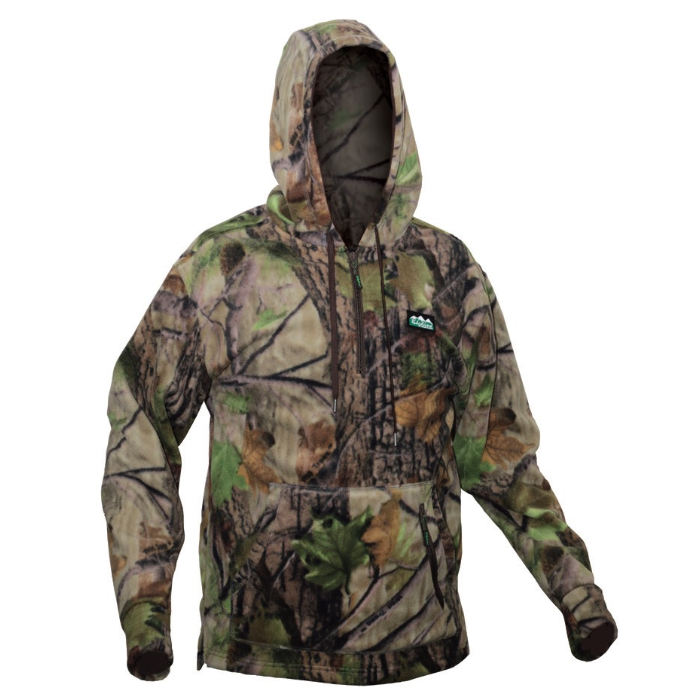 Ridgeline Ballistic Long Sleeve Hoodie Nature Green - XL