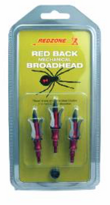 Red Zone 3 Blade Expanding 100Gr Broadheads