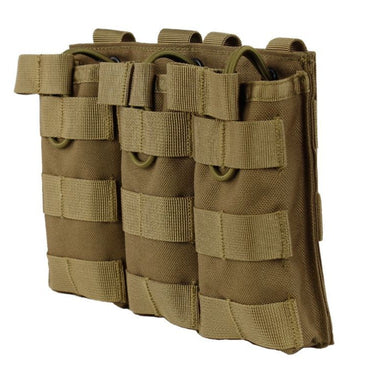 Tactical Triple Mag Pouch / Clip
