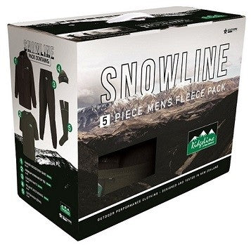Ridgeline Mens Snowline Pack Black/Olive 2XL