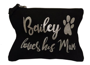 customised make up bag black friday