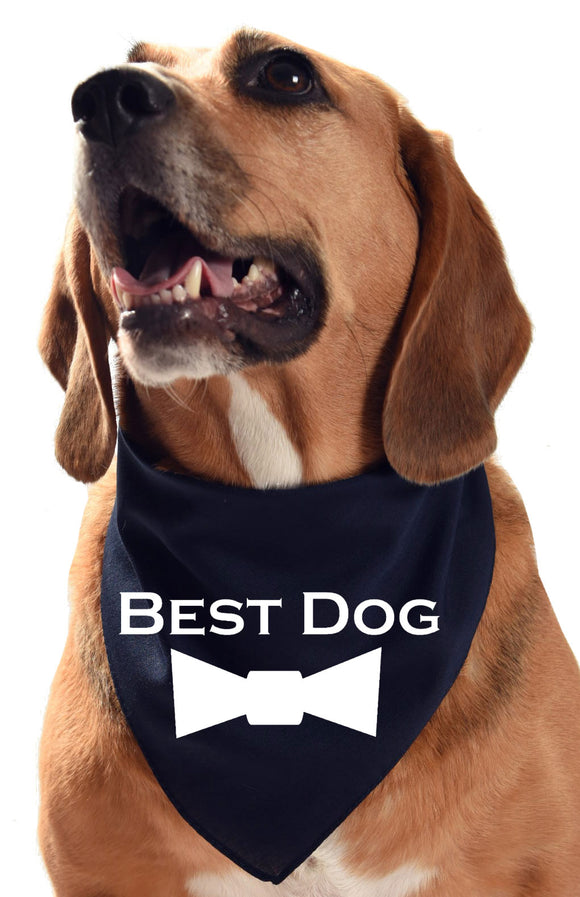 Best Dog wedding dog bandana