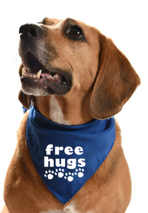 free hugs dog bandana puppy doggy cuddles