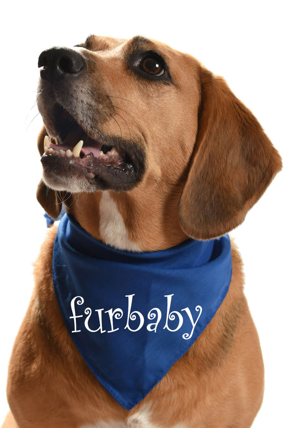 fur baby dog bandana for fur kids, fur children and family dogs