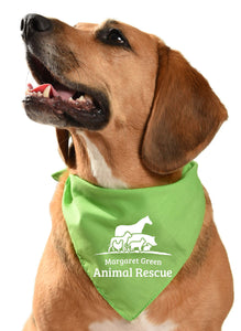 margaret green animal rescue dog fundraising bandana rehoming rescue