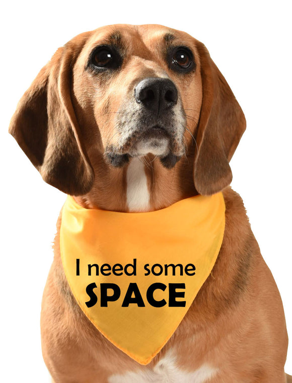 multi pack of 10 dog bandanas i need some space yellow dog