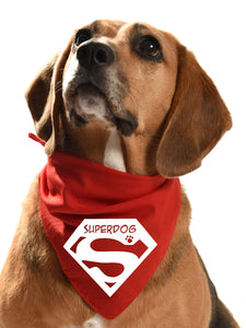 superdog superman marvel comics dog bandana clark kent
