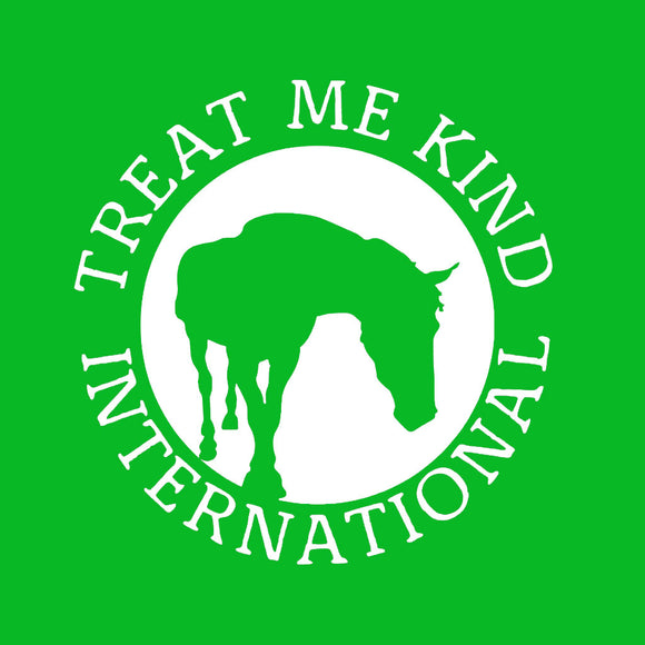 Treat Me Kind International fundraising dog bandana end animal cruelty