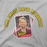 The Chris Rose Rotation | Cards | T-Shirt - Jomboy Media