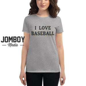 I Love Baseball - Brewers Womens