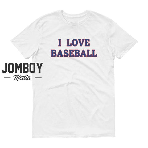 I Love Baseball - Rangers T-Shirt