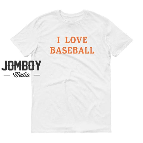 I Love Baseball | Mets | T-Shirt - Jomboy Media