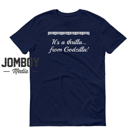 A thrilla from Godzilla - John Sterling Call - T-Shirt