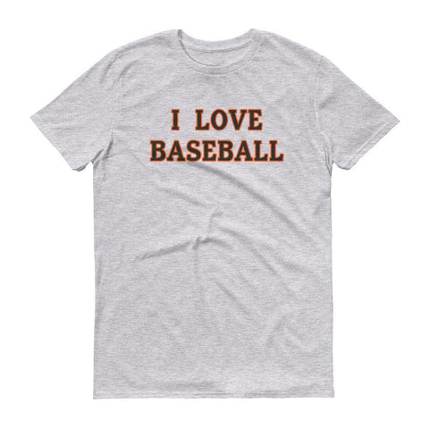 I Love Baseball - Giants T-Shirt
