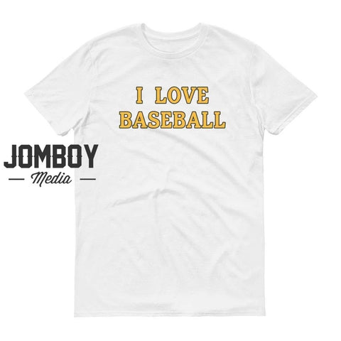 I Love Baseball | Pirates | T-Shirt - Jomboy Media