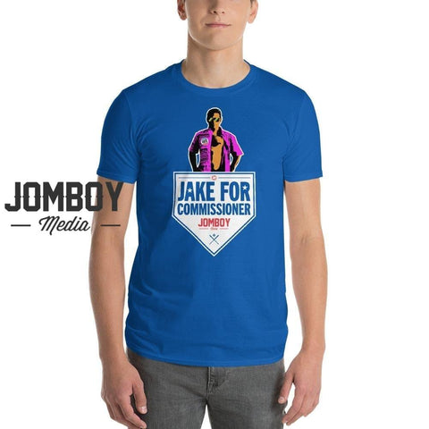 Jake For Commissioner | T-Shirt - Jomboy Media