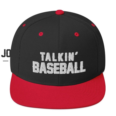 Talkin' Baseball | Snapback Hat