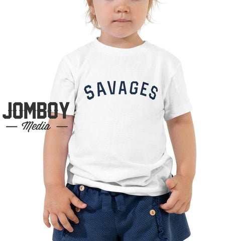 Savages | Toddler Tee - Jomboy Media