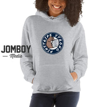 Load image into Gallery viewer, Pinstripe Strong Hoodie