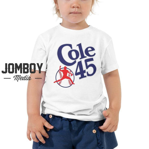 Cole 45 | Toddler Tee - Jomboy Media