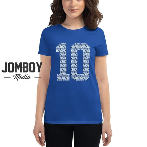 10 | Women's T-Shirt - Jomboy Media