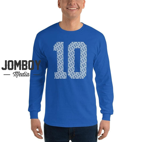 10 | Long Sleeve Shirt - Jomboy Media