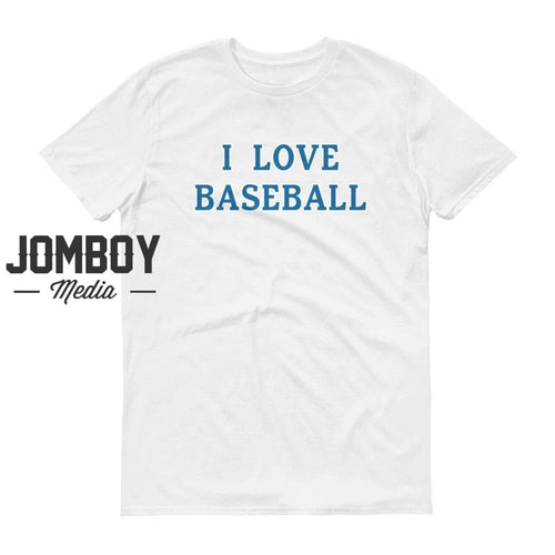 I Love Baseball - Dodgers Colors