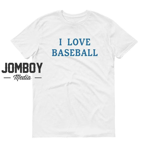 I Love Baseball - Dodgers T-Shirt