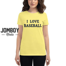 Load image into Gallery viewer, I Love Baseball - Brewers Womens