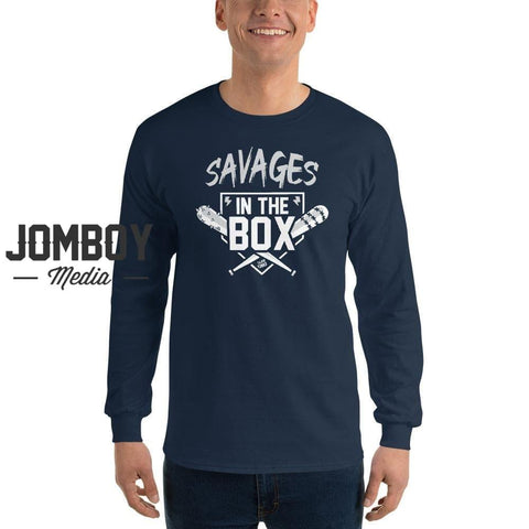Savages In The Box | Bats | Long Sleeve Shirt