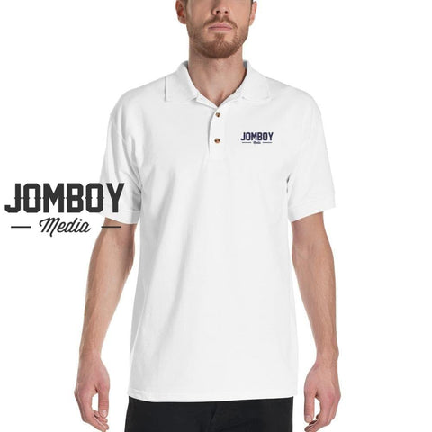 Jomboy Media Embroidered Polo Shirt