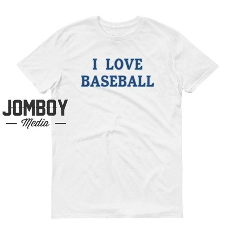 I Love Baseball - Rays T-Shirt