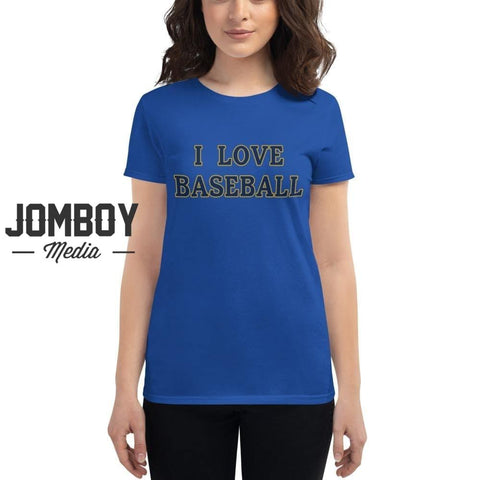 I Love Baseball - Brewers Women's T-Shirt