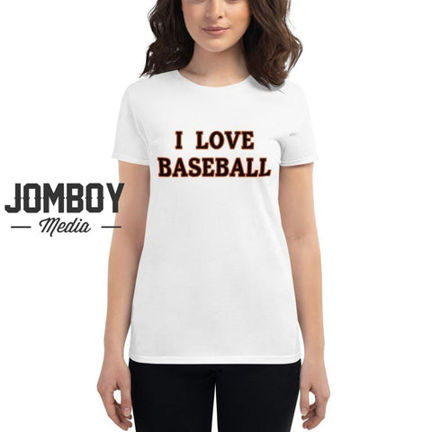 I Love Baseball | Orioles | Women's T-Shirt - Jomboy Media