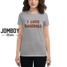 Load image into Gallery viewer, I Love Baseball - Giants Womens
