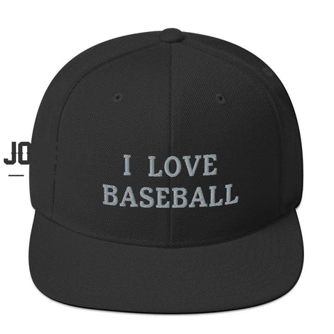 I Love Baseball - Snapback Hat