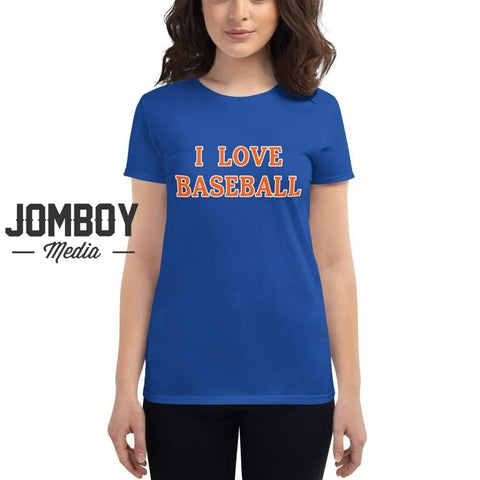 I Love Baseball - Mets Women's T-Shirt