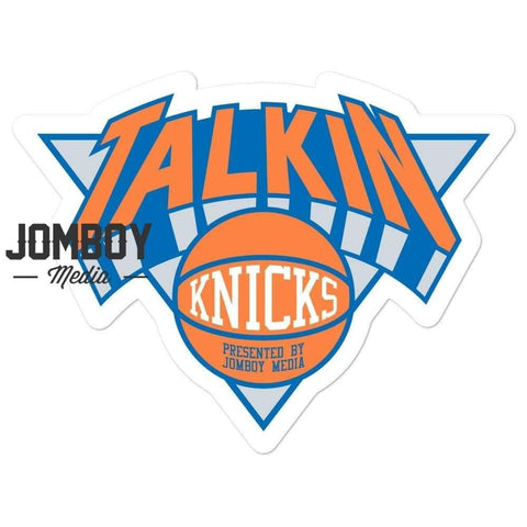 Talkin' Knicks | Sticker - Jomboy Media
