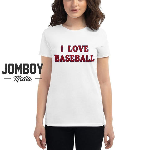 I Love Baseball - Nationals Women's T-Shirt