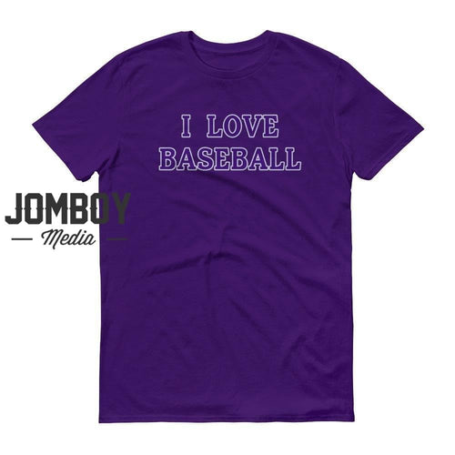 I Love Baseball - Rockies Colors