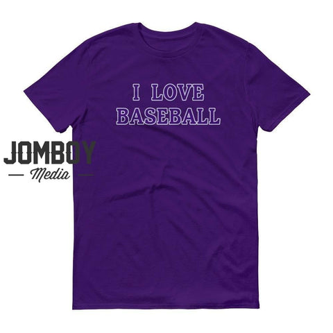 I Love Baseball - Rockies T-Shirt