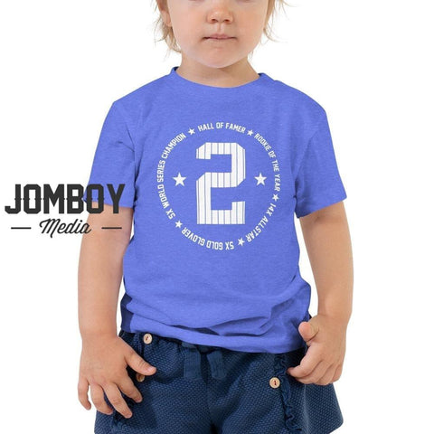 Derek Jeter HOF | Toddler Tee - Jomboy Media
