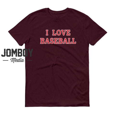 I Love Baseball | Phillies | T-Shirt - Jomboy Media