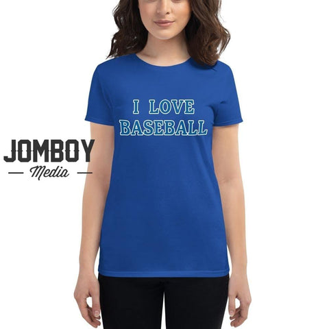 I Love Baseball - Dodgers Women's T-Shirt