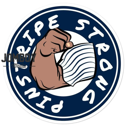 Pinstripe Strong | Sticker