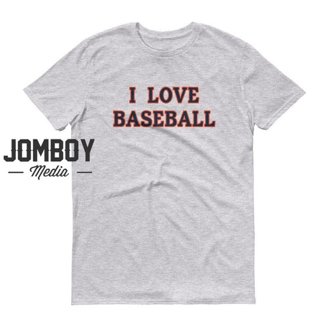 I Love Baseball - Tigers T-Shirt