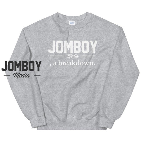 Jomboy Media, A Breakdown | Sweater - Jomboy Media